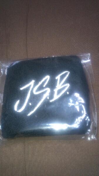 J.S.B. リストバンド 黒 三代目J Soul Brothers グッズ登坂広臣
