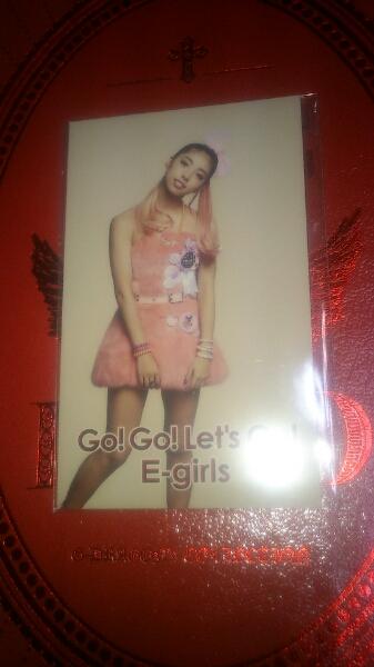 E-Girls Happiness SAYAKA フォトカード go! go! Let's go! ライブグッズの画像