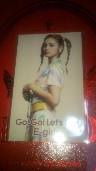 E-Girls Happiness go! go! Let's go! フォトカード 楓 グッズ ライブグッズの画像