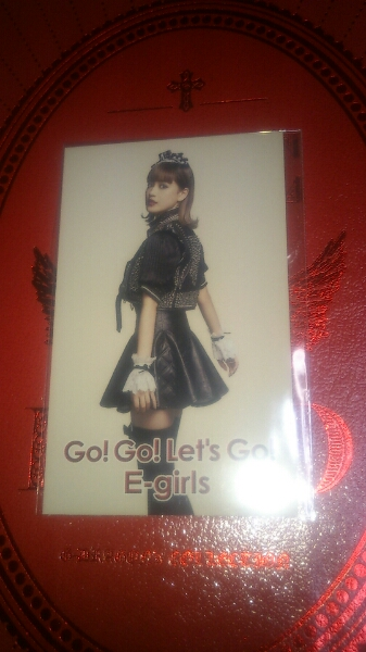 E-Girls Happiness 藤井夏恋 フォトカード go! go! Let's go! ライブグッズの画像