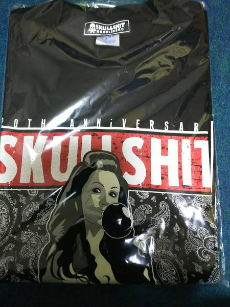 SKULLSHIT x sim(MAH)コラボTシャツ M 骸骨祭り