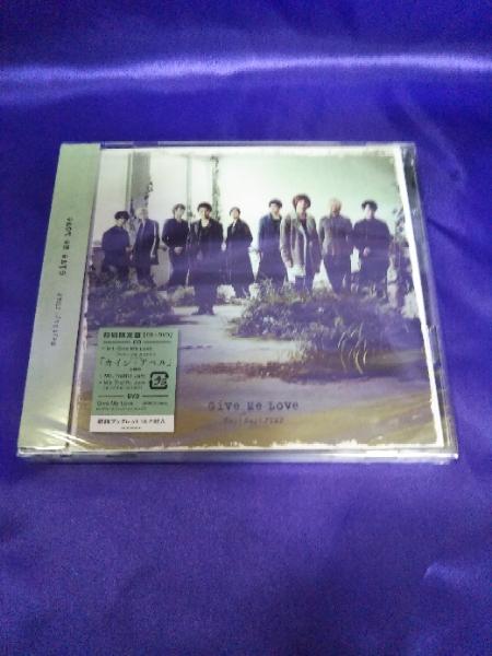 即決【新品】 Hey!Say!JUMP Give Me Love 初回限定盤 CD DVD 数7 コンサートグッズの画像