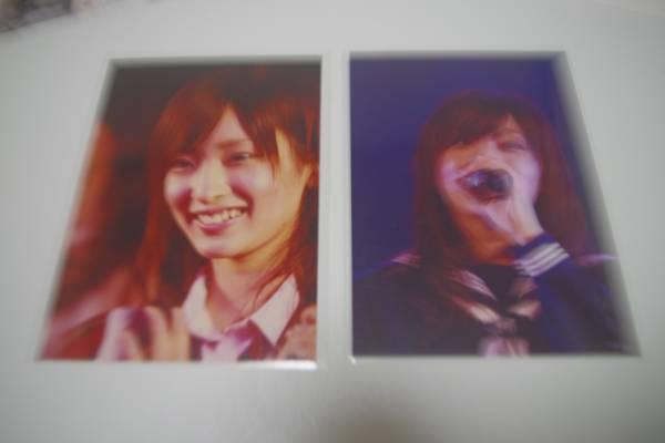 AKB48、NMB48梅田彩佳さん初期の写真レア2枚 ライブ・総選挙グッズの画像