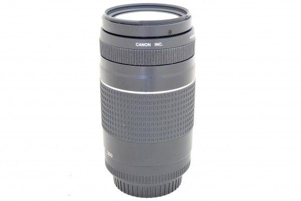 Canon キャノン ZOOM EF 75-300mm F4-5.6Ⅲ 一眼レフ用 交換レンズ 送料無料 1円オークション
