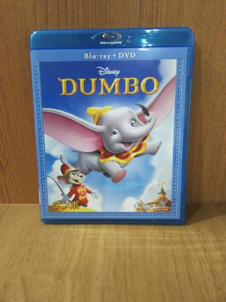 ダンボ ブルーレイ+DVD ディズニーグッズの画像