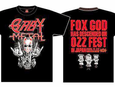 【新品】BABYMETAL OZZFEST JAPAN2015限定 MADFOXTシャツMサイズ