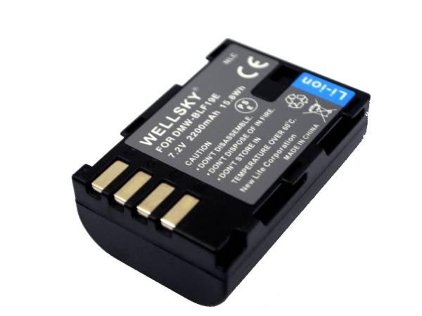 新品 Panasonic パナソニック DMW-BLF19 互換バッテリー LUMIX ルミックス DMC-GH3 / DMC-GH3A / DMC-GH3H / DWM-BTC13 / DC-GH5 / DC-GH5s_残量表示可能
