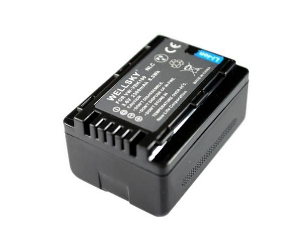 新品 Panasonic VW-VBK180-K 互換バッテリー HDC-TM95 HDC-TM85_残量表示可能