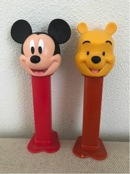 ミッキーマウス くまのプーさん ペッズ pezz 中古 ディズニーラ