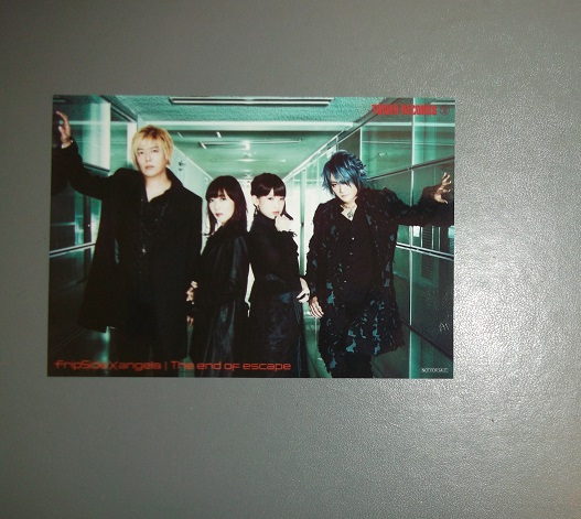 ☆fripSide×angela The end of escape タワレコ特典ブロマイド
