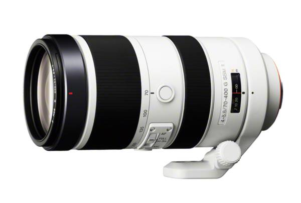 ソニー SONY 70-400mm F4-5.6 G SSM II レンズ 美品 ■