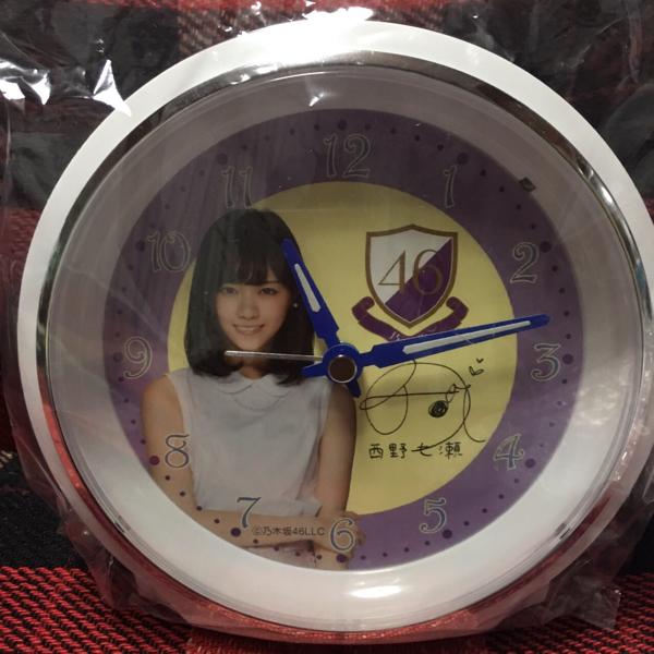 西野七瀬 オーダーメイド 目覚まし時計 乃木坂46