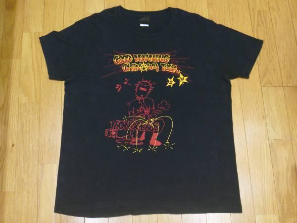 【 モンゴル800 】2013-14ツアー プリントTシャツ 黒 XL