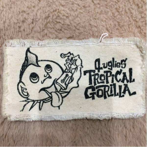 TROPICAL GORILLA 布パッチ hard core punk 中古