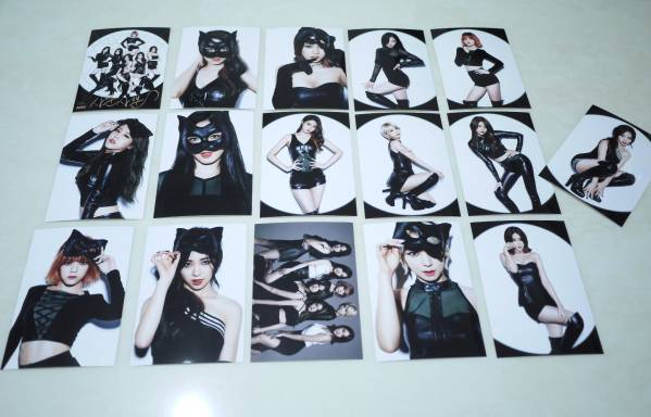AOA (Like a Cat) 宣伝生写真30枚セット