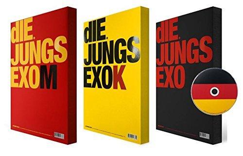 初回限定シリアルナンバー付 EXO 「diE JUNGS」写真集3冊セット