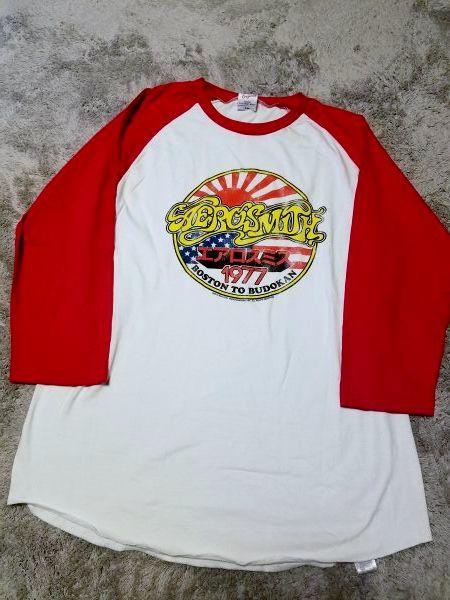 エアロスミス ラグランTシャツ Lサイズ