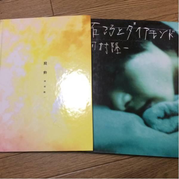 【河村隆一】写真集2冊セット★石ころとダイアモンド、鼓動★