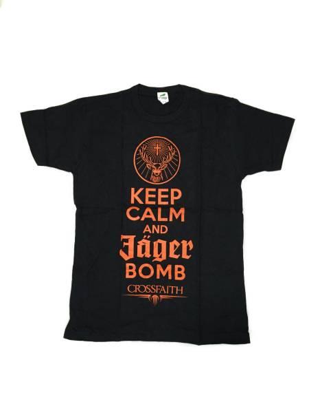 【新品】激レア!Crossfaith Jagerbomb Tシャツ S 超希少 ライブグッズの画像
