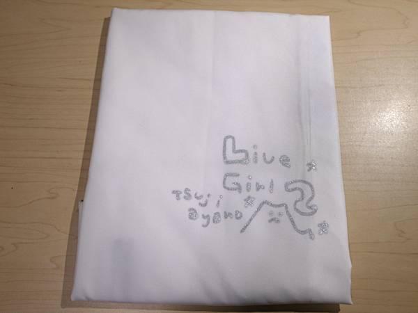 つじあやの 肉筆イラストサイン入りエコバック 2008年物販品