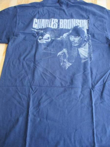 Charles Bronson Tシャツ 紺M / los crudos mk ultra spazz