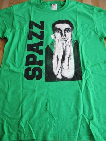 SPAZZ Tシャツ 緑M / los crudos mk ultra charles bronson