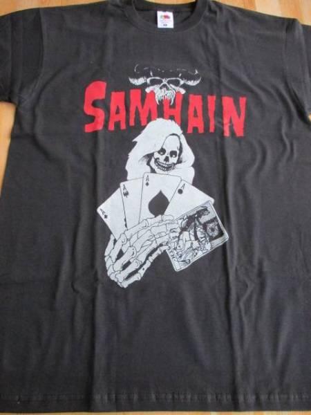 SAMHAIN Tシャツ cards 黒M / danzig misfits サムヘイン