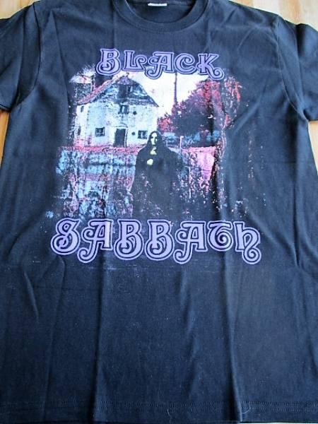 BLACK SABBATH Tシャツ 黒M 黒い安息日 iron maiden metallica
