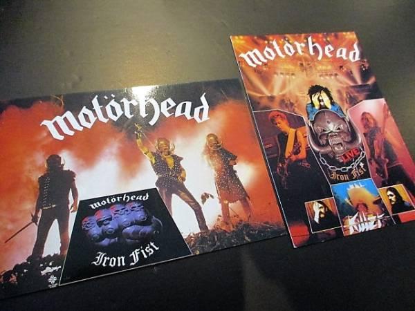 MOTORHEAD ポストカード iron fist / live 2枚組 ヴィンテージ