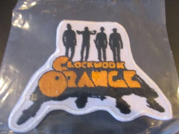 Clockwork Orange 刺繍パッチ アイロン ワッペン / 時計じかけのオレンジ