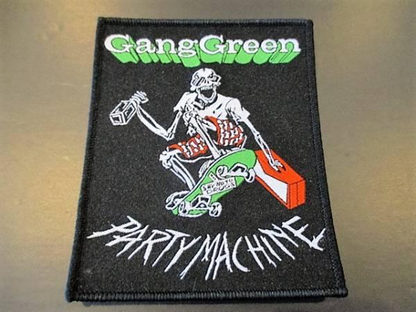 GANG GREEN 刺繍パッチ ワッペン / ripcord siege deep wound
