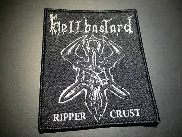 HELLBASTARD 刺繍パッチ ワッペン / discharge crust slayer