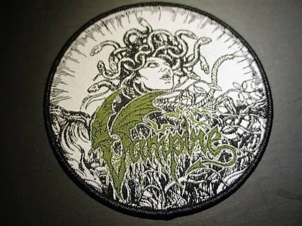 VAMPIRE 丸形刺繍パッチ ワッペン / slayer antichrist