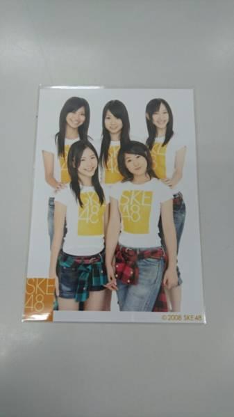 SKE48 2008年 公式 生写真 松井珠理奈 松井玲奈