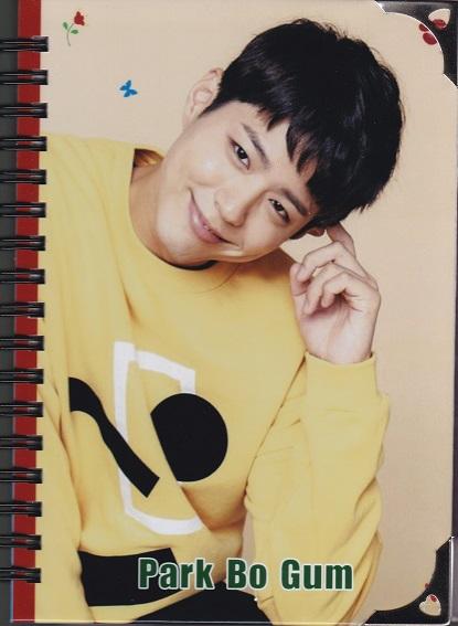 ☆New!■パク・ボゴム■写真付【新型ダイアリー手帳】☆韓国