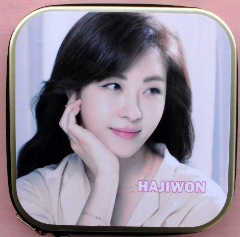 ハ・ジウォン 韓国製 CD DVD 収納ケース455