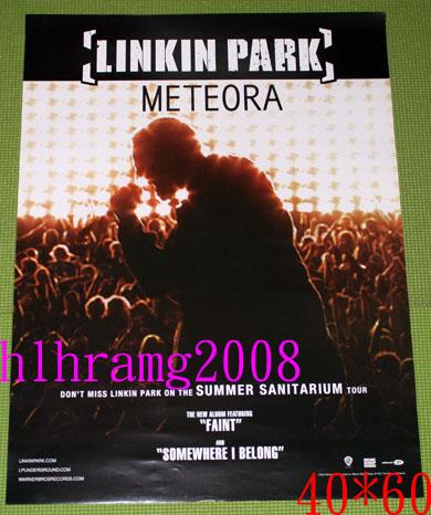 Linkin Park リンキンパーク Meteora 告知ポスター