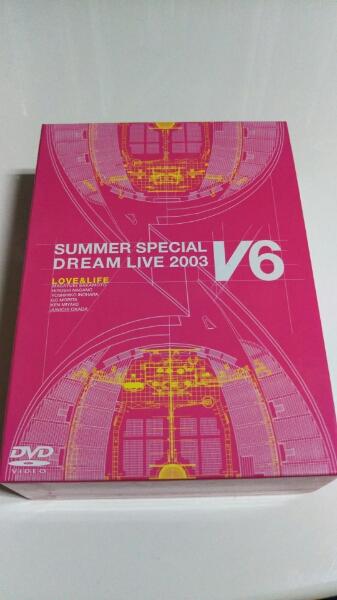 限定盤!V6 SUMMER SPECIAL DREAM LIVE 2003☆3枚組☆