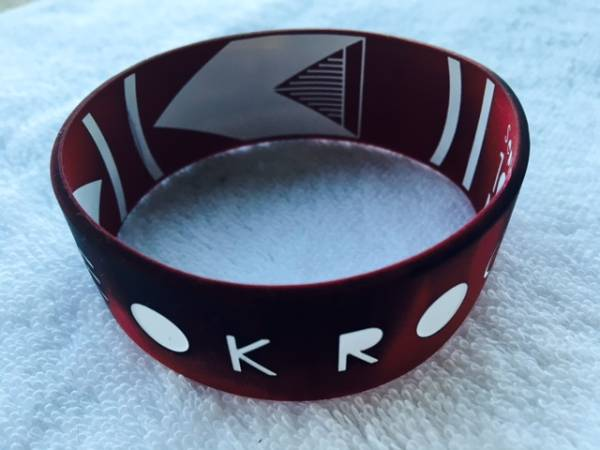 ONE OK ROCK ★2016 ラバーバンド・BLACK×RED★SOLD OUTの品