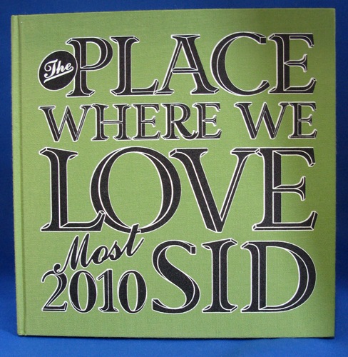 SID (シド) the place where we love most 2010 パンフレット