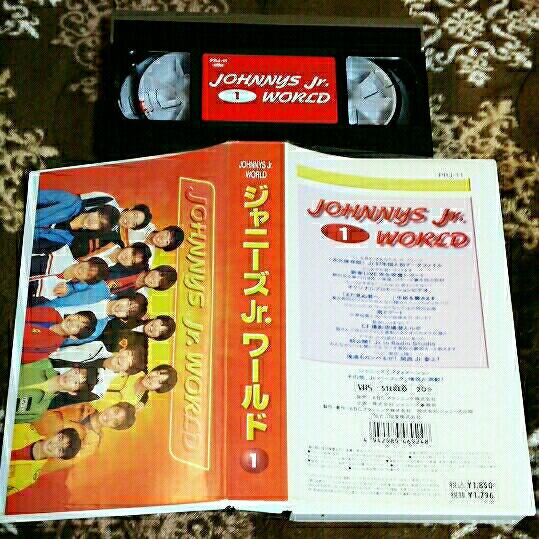 VHS ジャニーズJr.ワールド1 タッキー&翼 嵐 関ジャニ∞ 生田斗真 ジャニーズジュニア ビデオテープ