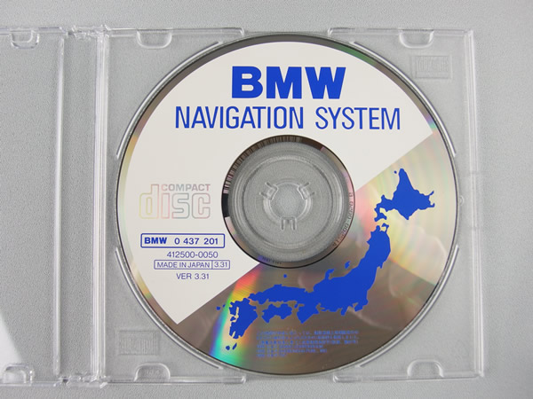 【中古】 BMW NAVIGATION SYSTEM CD VER 3.31 1996年版_画像1