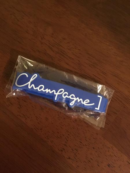 champagne ラバーバンド 新品