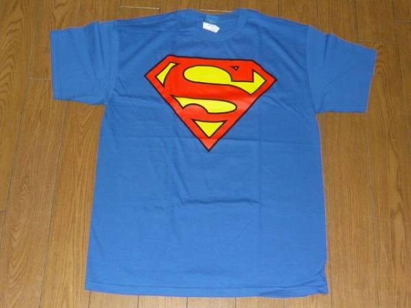 スーパーマンロゴシャツ superman アメコミヒーローdcコミックス グッズの画像