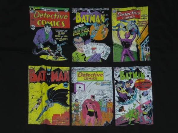 新品 バットマン batman シャツ dcコミックス アメコミ ヒーロー グッズの画像