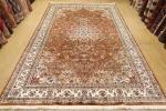 新品SALE 大判リビングサイズ 高級ラグ パキスタン手織り絨毯 ペルシャデザイン 伝統工芸 185x272cm/GH789