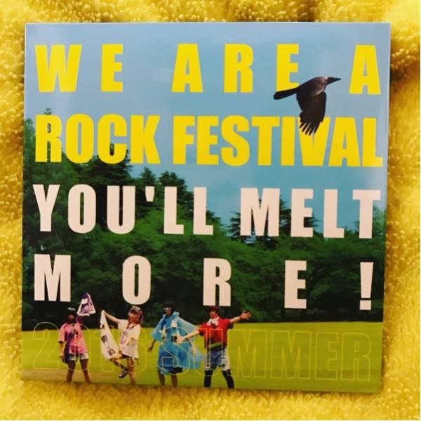 ゆるめるモ! CD 「WE ARE A ROCK FESTIVAL」あのちゃん