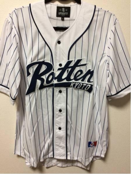 新品 ROTTENGRAFFTY ロットングラフティー ベースボールシャツ ライブグッズの画像