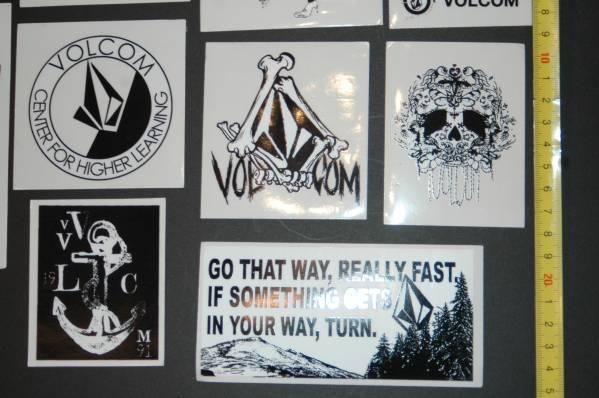 即決 VOLCOM ボルコム 非売品 ステッカー セット G5_画像3