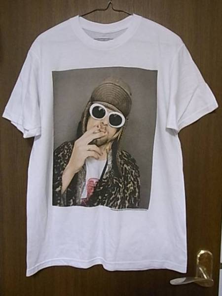 ☆Kurt Cobain×Jesse Frohman 2015 The End Of Music Tシャツ M